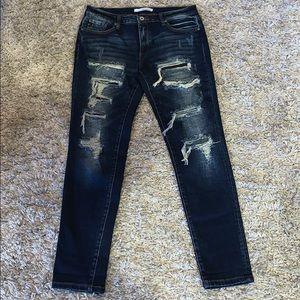 Women's KanCan distressed jeans